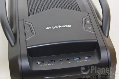 Cooler Master Cosmos SE: I/O-Panel