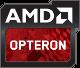 AMD Opteron - rotes Logo