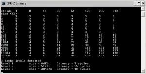 CPU-Z Phenom 9500: Memory Latency