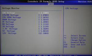 Bild zum BIOS ASUS Crosshair IV Formula