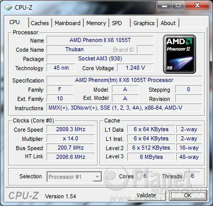 AMD Thuban 1055T