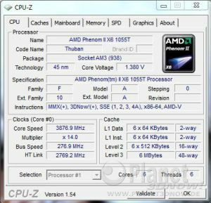 AMD Thuban 1055T Overclocking