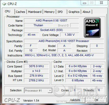 AMD Thuban 1055T Overclocking