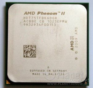 Foto des Prozessors AMD Phenom II X6 1075T