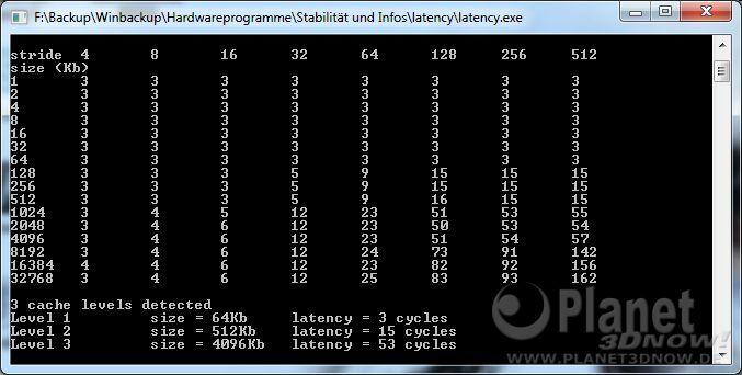 CPU-Z Latency AMD Phenom II X6 1075T DDR3-1333