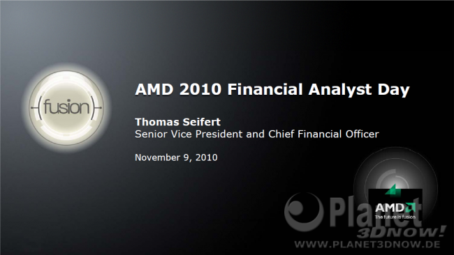 AMD 2010 Financial Analyst Day - Thomas Seifert