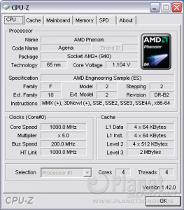 Cool´n´Quiet Foxconn A79A-S - idle X4