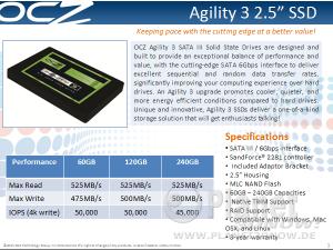 OCZ Agility 3 Review