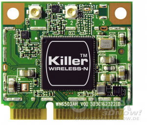 Bigfoot Networks Killer Wireless-N 1102