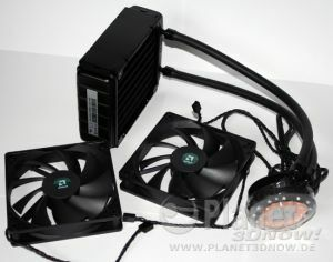 Foto des Liquid Cooling Kits