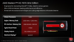 Launch AMD Radeon HD 7800
