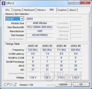 SPD AMD Memory Entertainment Edition