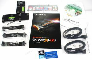 Lieferumfang Gigabyte GA-990FXA-UD7