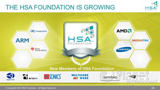 HSA Foundation - Samsung Electronics tritt als Founder bei