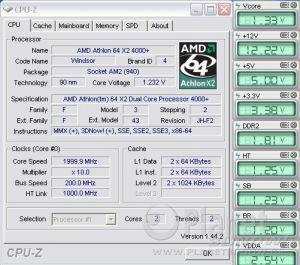 Cool'n'Quiet ASUS Crosshair II Formula - X2 load