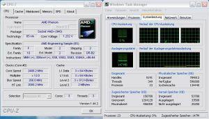 ASUS Crosshair II Formula: deaktivierter Prozessorkern