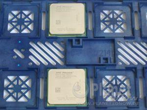 AMD Phenom X4 8750 und AMD Phenom X4 9850 vereint im Prozessor-Tray