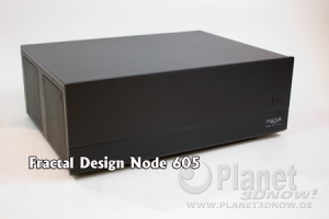 Fractal Designs erster HTPC - Node 605