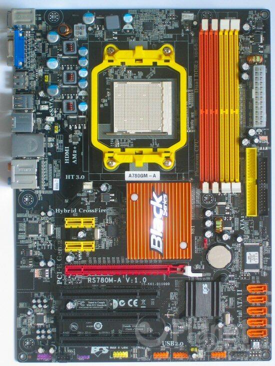Bild zum Layout ECS A780GM-A