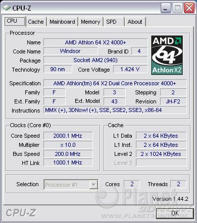 Cool'n'Quiet ECS A780GM-A - X2 load