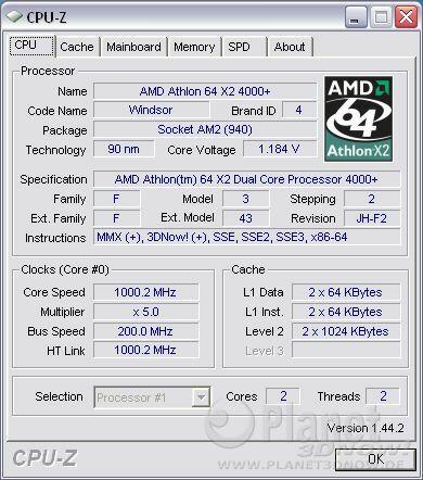 Cool'n'Quiet ECS A780GM-A - X2 idle