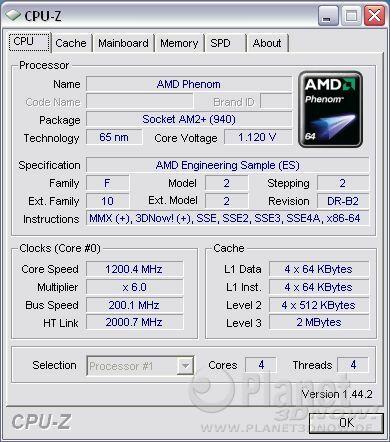 Cool'n'Quiet ECS A780GM-A - Phenom idle