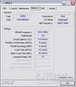 ECS A780GM-A: DDR2-1066