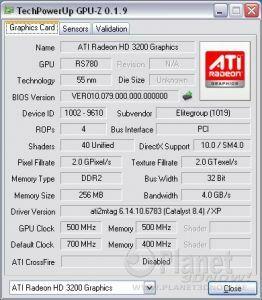 ECS A780GM-A: IGP