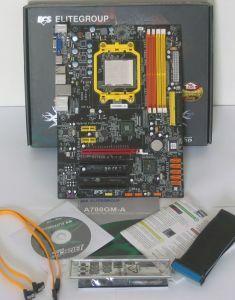 Lieferumfang ECS A780GM-A