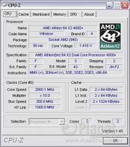Cool'n'Quiet ASRock A780FullDisplayPort - X2 load