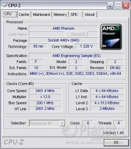 Cool'n'Quiet ASRock A780FullDisplayPort - Phenom load
