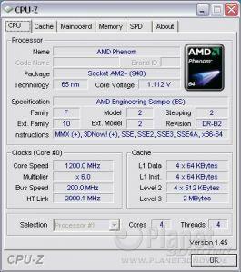 Cool'n'Quiet ASRock A780FullDisplayPort - Phenom idle