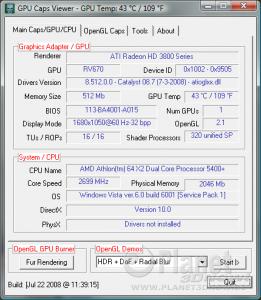 GPU Caps Viewer v1.5.0
