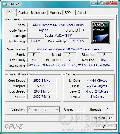 Cool'n'Quiet Foxconn A7DA-S - Load