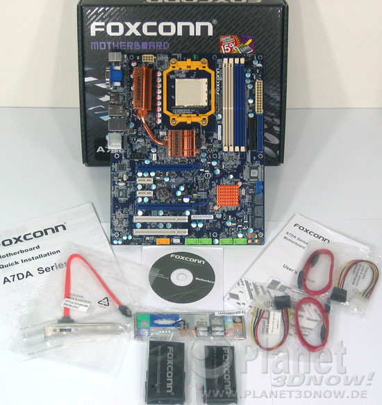 Lieferumfang Foxconn A7DA-S