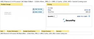 AMD Phenom II X4 940 und 920