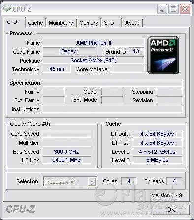 300 MHz Referenztakt mit AMD Deneb