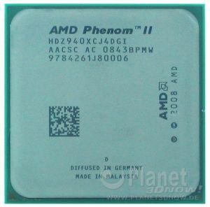 AMD Phenom II Deneb - Foto des Prozessors