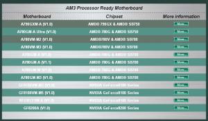 ECS AM3 ready Mainboards
