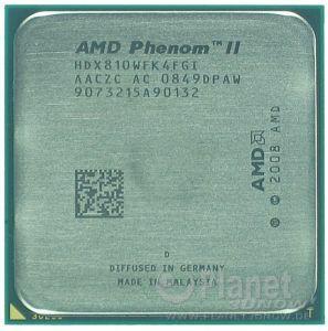 AMD Phenom II Deneb AM3 - Foto des Prozessors X4 810