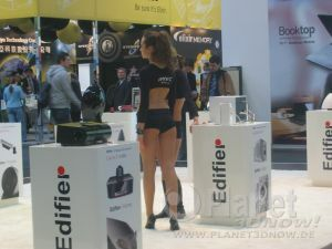 Messebabes der CeBIT 2009
