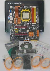 Lieferumfang ECS A790GXM-AD3
