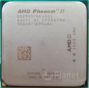 AMD Phenom II X4 955 BE - Foto des Prozessors X4 955 BE