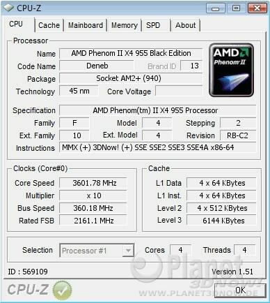 AMD Phenom II X4 955 BE - Overclocking AM2+