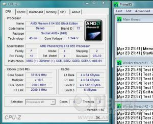 AMD Phenom II X4 955 BE - Overclocking AM3