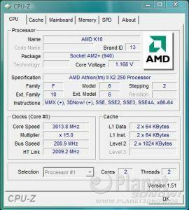 AMD Athlon II X2 250 - Spannungsabsenkung bei Standardtakt