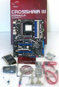 Lieferumfang ASUS Crosshair III Formula