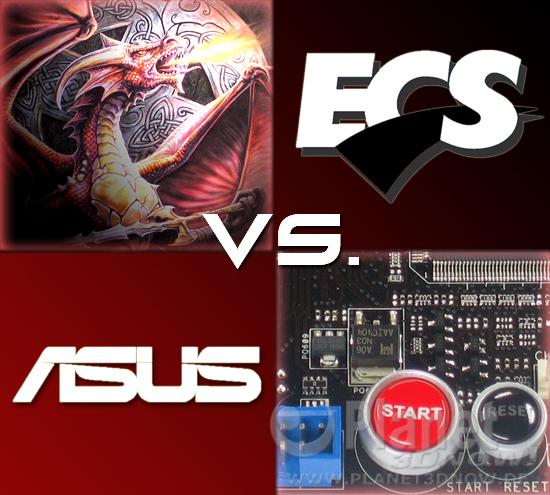 Titelbild zum ECS A790GXM-AD3 vs. ASUS Crosshair III Formula