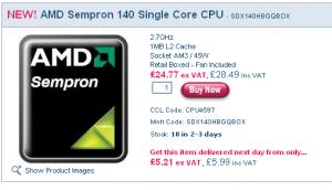 45nm Sempron X1 140