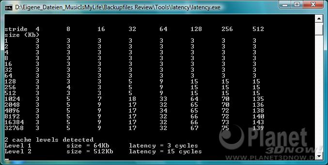 CPU-Z Latency AMD Athlon II X4 620